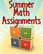 Summer Math Assignments Letter to Parents