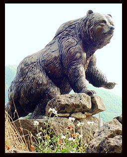big bronze bear