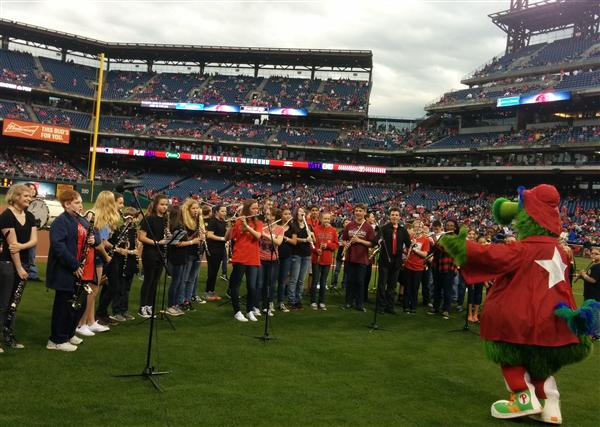 Wind Ensemble @ Phillies Game